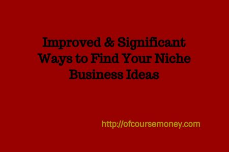 Improved & Significant Ways to Find Your Niche Business Ideas
