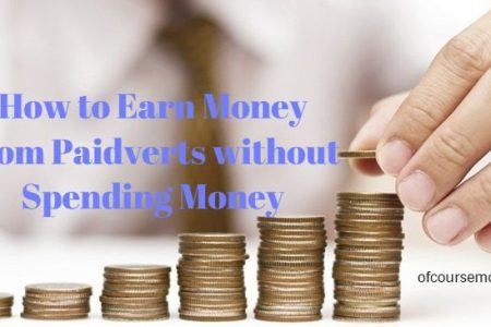 How to Earn Money from Paidverts without Spending Money